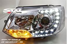 sw drl scheinwerfer vw t5 gp facelift typ 7h 09 14 led tfl