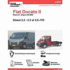 fiat ducato fiche technique revue technique fiat ducato ii diesel rta site officiel etai