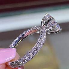 aliexpress com buy 2019 fashion jewelry engagement pandora ring princess ring for