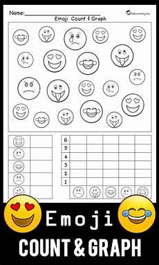 Emoji Malvorlagen Count Emoji Count Graph Worksheet Free Math Worksheets Free
