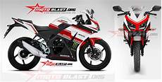 Variasi Cbr 150 Lokal by Modif Striping Honda Cbr150r Lokal White Simple Motoblast