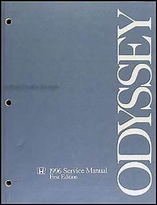 auto repair manual free download 1996 honda odyssey interior lighting 1996 honda odyssey repair shop manual original