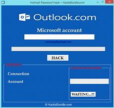 hack any hotmail account working