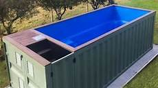 Container Als Pool - shipping container pools diy