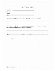 download free photo release form template photography