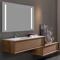 meuble salle de bain iroko 100 cm 1 tiroir vasque