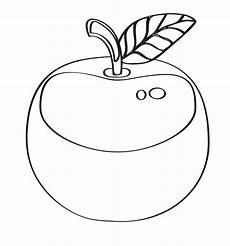 Malvorlagen Apfel Essen Kostenlose Malvorlage Obst Und Gem 252 Se Gro 223 Er Apfel Zum