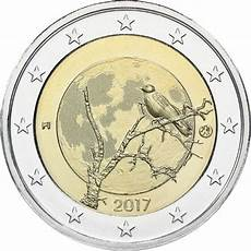 2 euros finlande finland 2 2017 nature eur30682