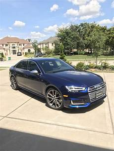 my first audi 2018 s4 in navarra blue audi