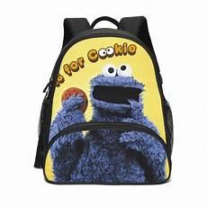seasame small child 3d backpack school shoulder bag