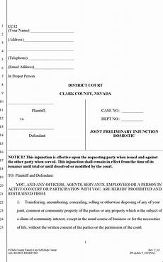 16 nevada divorce papers free download