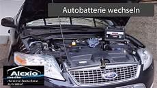 ford mondeo mk4 ba7 batterie wechseln replacing car