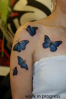 70 magnificent shoulder designs - Schmetterling Arm