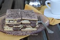 crema pasticcera senza cottura mattonella di biscotti nutella e crema pasticcera ricetta