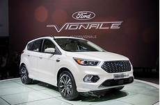 ford vignale kuga the 2016 ford kuga s mid me up shows its