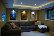 Living Room Home Theater Decor Ideas by Small Home Theater Contemporary Home Theater