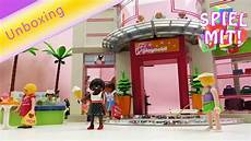 Playmobil Ausmalbilder Shopping Center Playmobil Shopping Center Unboxing Riesiges