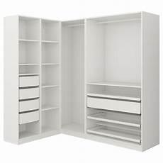 pax armoire d angle blanc ikea