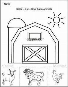 farm animals worksheets for preschool 14135 daycare farm on farm theme preschool
