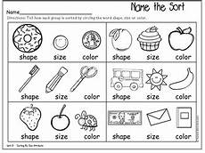 free worksheets sorting and classifying 7741 kindergarten math topic 13 sorting and classifying data tpt