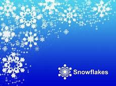 Snowflake Background Powerpoint
