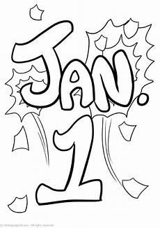 malvorlagen neujahr gratis