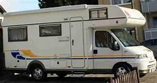 eura mobil gebraucht top eura mobil 635 hs hecksitzgruppe gr 252 ne wohnwagen