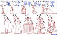 How To Draw Princesses Step By Step Figures People