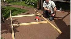 holzrahmen selber bauen gew 228 chshaus 1 planen fundament setzen