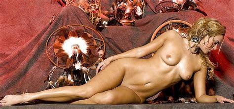 Amanda Cerny Half Naked
