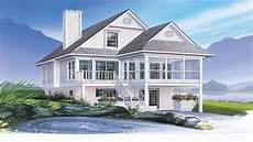 house plans for narrow lots on waterfront coastal house plans narrow lots waterfront home house