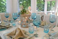a beach themed table setting beach table settings christmas decorations dinner table wedding