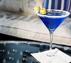 signature cocktail recipes godolphin s royal blue martini