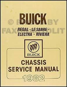 free service manuals online 1991 buick lesabre electronic valve timing 1982 buick shop manual lesabre riviera regal electra original repair service ebay