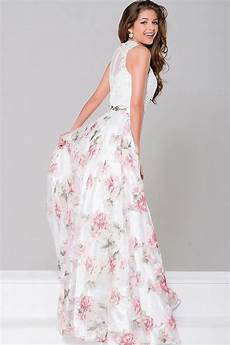 jovani floral two dress jvn41771 couture