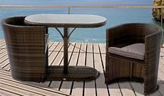 6tlg balkon set continental mocca sessel kissen tisch