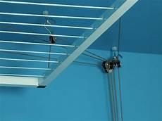 etendoir plafond avec treuil 224 manivelle