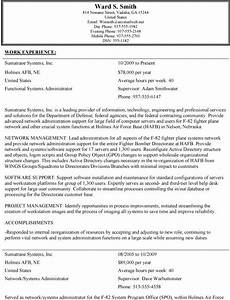 resume format for usa jobs resume format