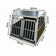 gabbie cani trasportino doppio gabbia in alluminio per cani da auto