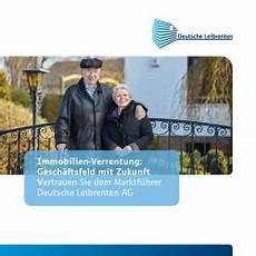 Infomaterial Deutsche Leibrenten Grundbesitz Ag