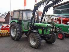 traktor allrad frontlader traktor deutz fahr 6206 allrad frontlader