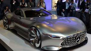 Mercedes AMG Vision Gran Turismo Concept Is Long Low