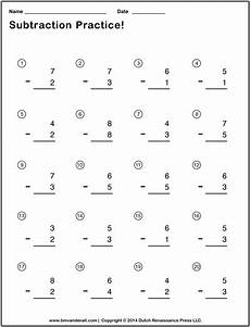 subtraction worksheets easy 10059 simple subtraction worksheets for students and teachers pdf format