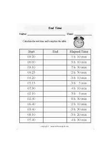 end time word problems worksheets 3410 calculate the start time given the end time and an interval to the nearest minute