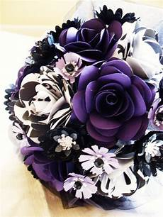 purple black and white and groom wedding event