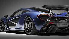The Mclaren P1 Farewell Is Dressed In Stunning Blue