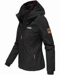 marikoo damen regenjacke winter jacke outdoor kapuze