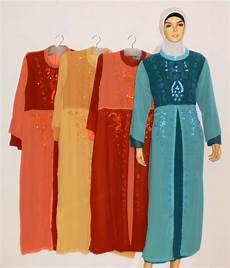 Gamis Payet Kaftan grosir baju muslim murah tanah abang gamis payet
