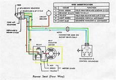 1968 Firebird Power Seat Wiring