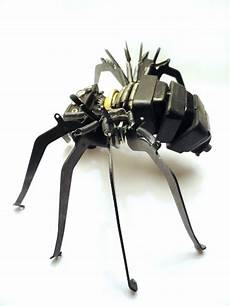 awesome typewriter assemblage mayers spider from typewriter parts with images